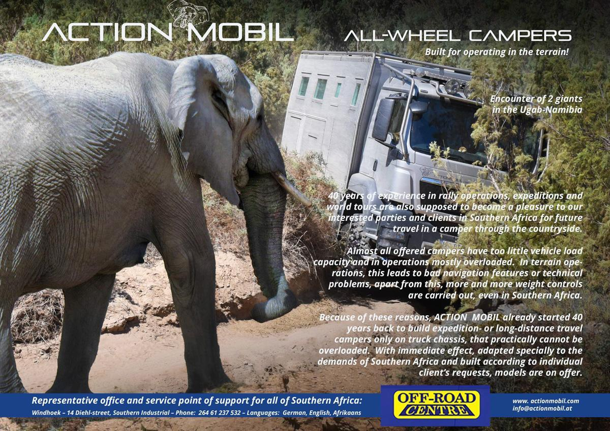 Action Mobil representation in Windhoek