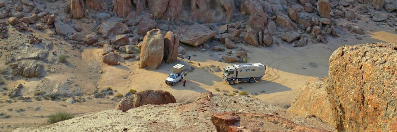 The Globetrotter Vehicle ATACAMA 6300 is put to the test