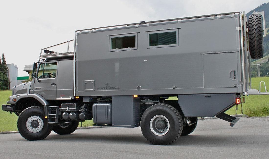 Action mobil atacama 5140 mercedes benz zetros 4x4 rv for Mercedes benz recreational vehicles