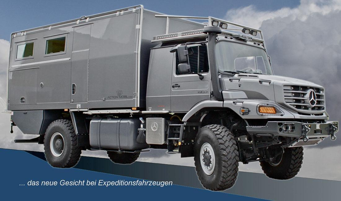 Offroad Motor Home On A Mercedes Chassis
