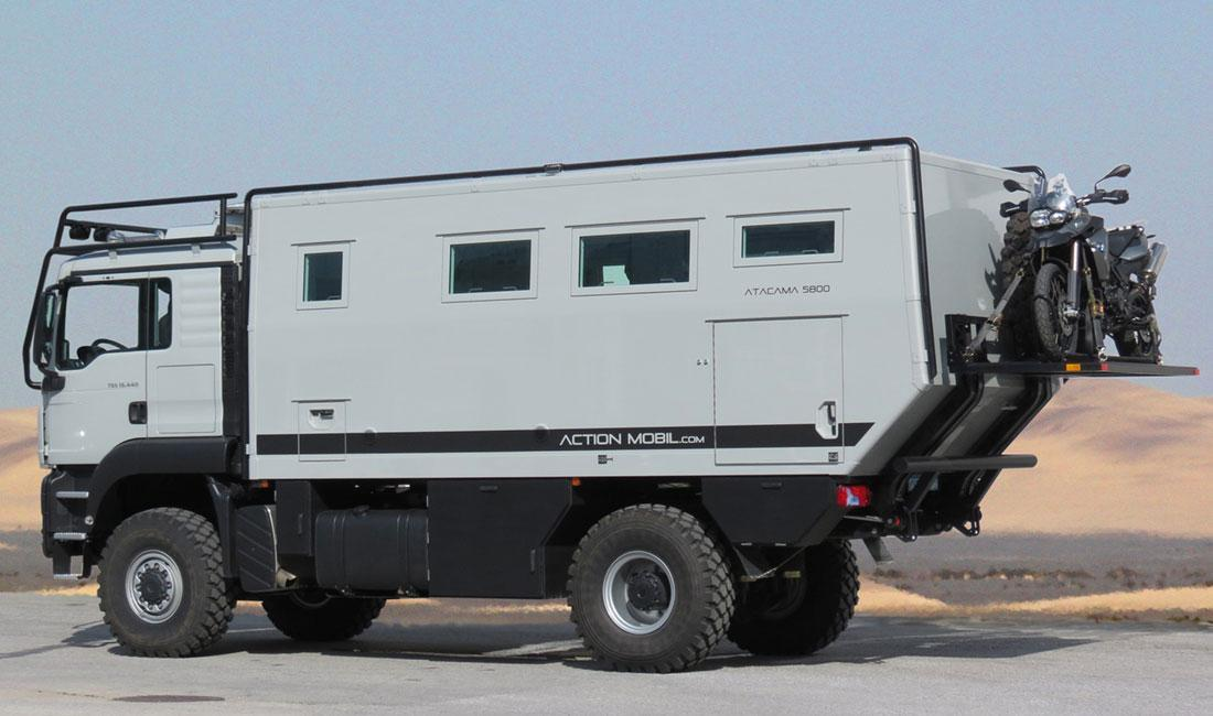 Completely Equipped All Wheel Expedition Mobile Atacama 5800