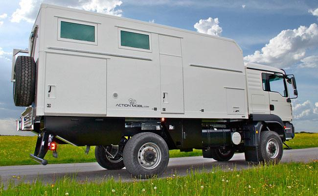 Familien-Allrad-Wohnmobil Pure-5600 Family