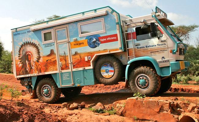 Trans-Sahara-Tour with ACTIONMOBIL