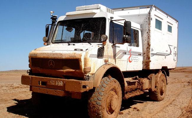 UNIMOG of ACTION MOBIL