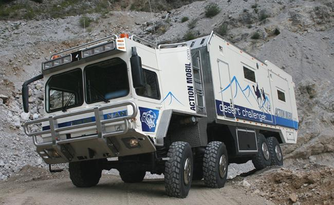 Desert Challenger One Of The Biggest Offroad Motor Homes Worldwide