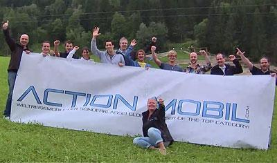 Unser ACTION MOBIL Team